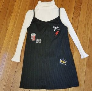 ZARA GIRLS DRESS WITH PATCHES